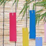 「短冊」の5種類の色とそれぞれの意味